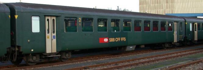 Vehicle - Rail - Passenger Car - SBB-CFF - EW I / VU I