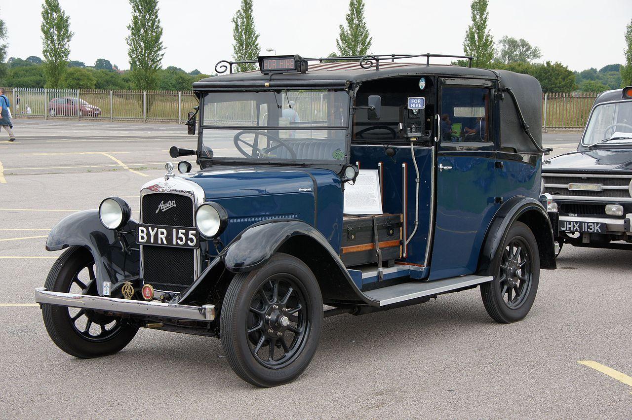 Vehicle - Vehicle - Automobile - Austin - Taxicab