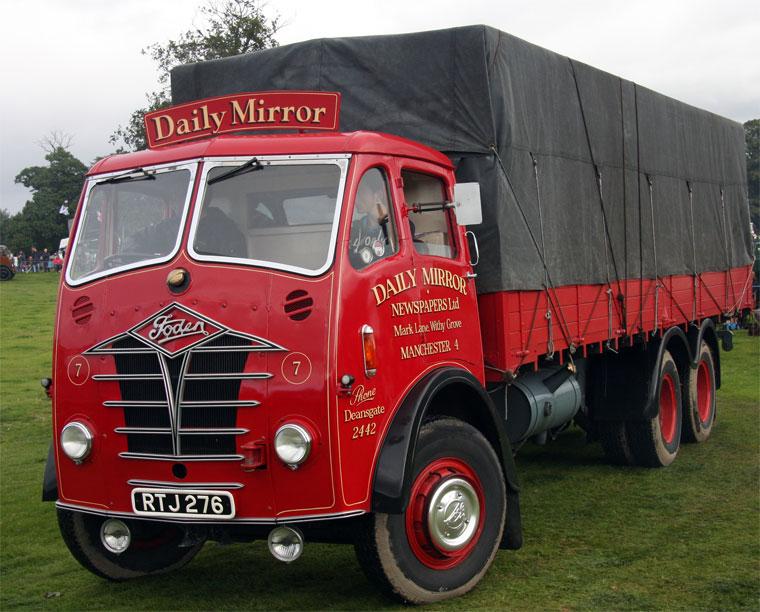 Vehicle - Vehicle - Truck - Range Cab - Foden FG Series