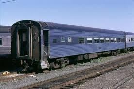 Vehicle - Rail - Passenger Car - Streamlined/Lightweight - Corrugated