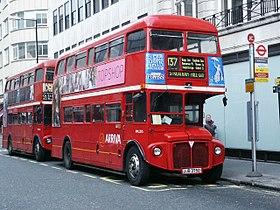 Vehicle - Vehicle - Bus - Associated Equipment Company (AEC)  - Routemaster