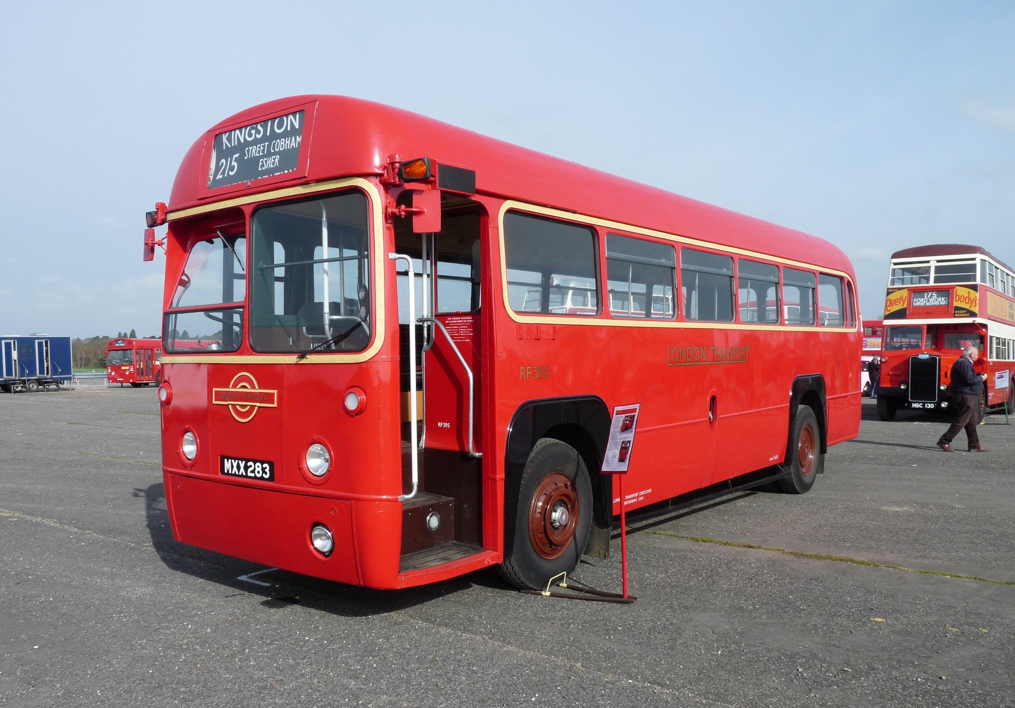 Vehicle - Vehicle - Bus - Associated Equipment Company (AEC)  - Regal IV