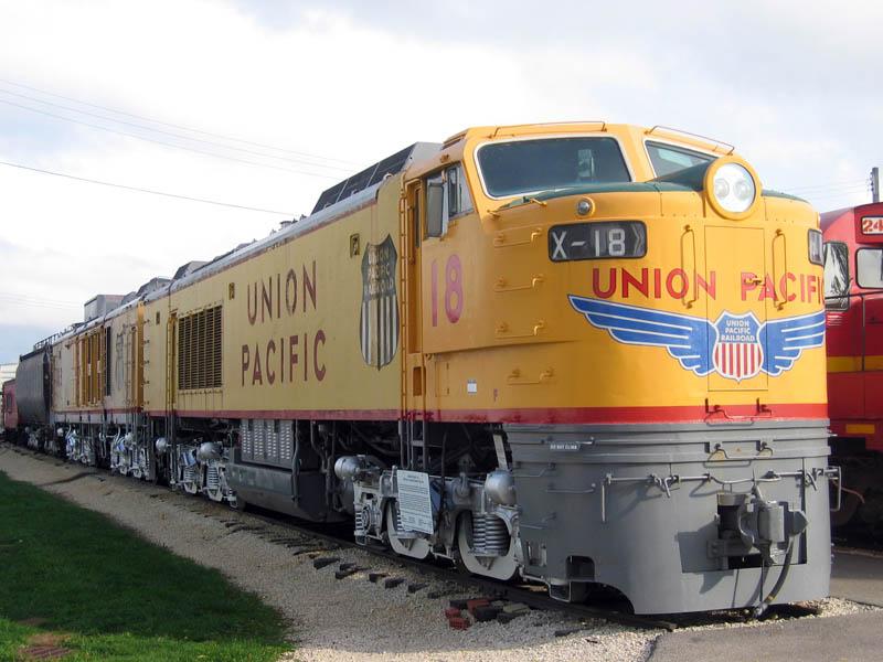 Rail - Locomotive - Gas-Turbine Electric - GTEL