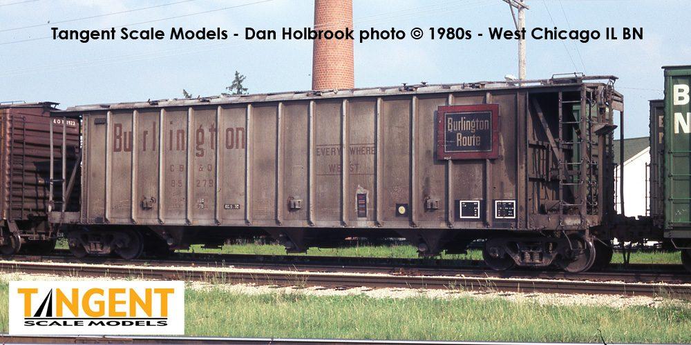 Rail - Rolling Stock (Freight) - Covered Hopper - 3-Bay GATX Dry-Flo 3500