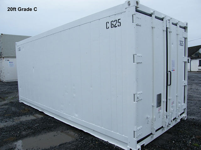 Intermodal - Container - 20 Foot - Smoothside, Refrigerated