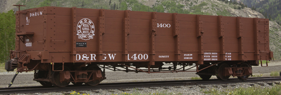 Rail - Rolling Stock (Freight) - Gondola - 32 Foot, High Side