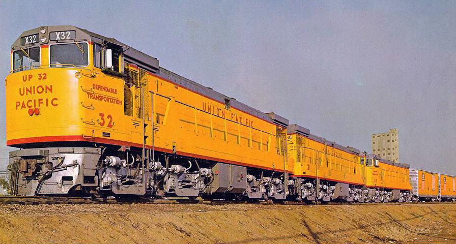 Rail - Locomotive - Diesel - GE U50