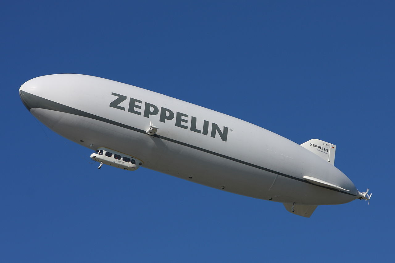 Aircraft - Propeller - Aerostat - Airship, Zeppelin, Blimp