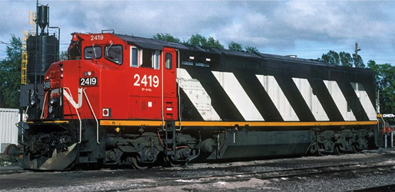 Vehicle - Rail - Locomotive - Diesel - GE Dash 8-40CM