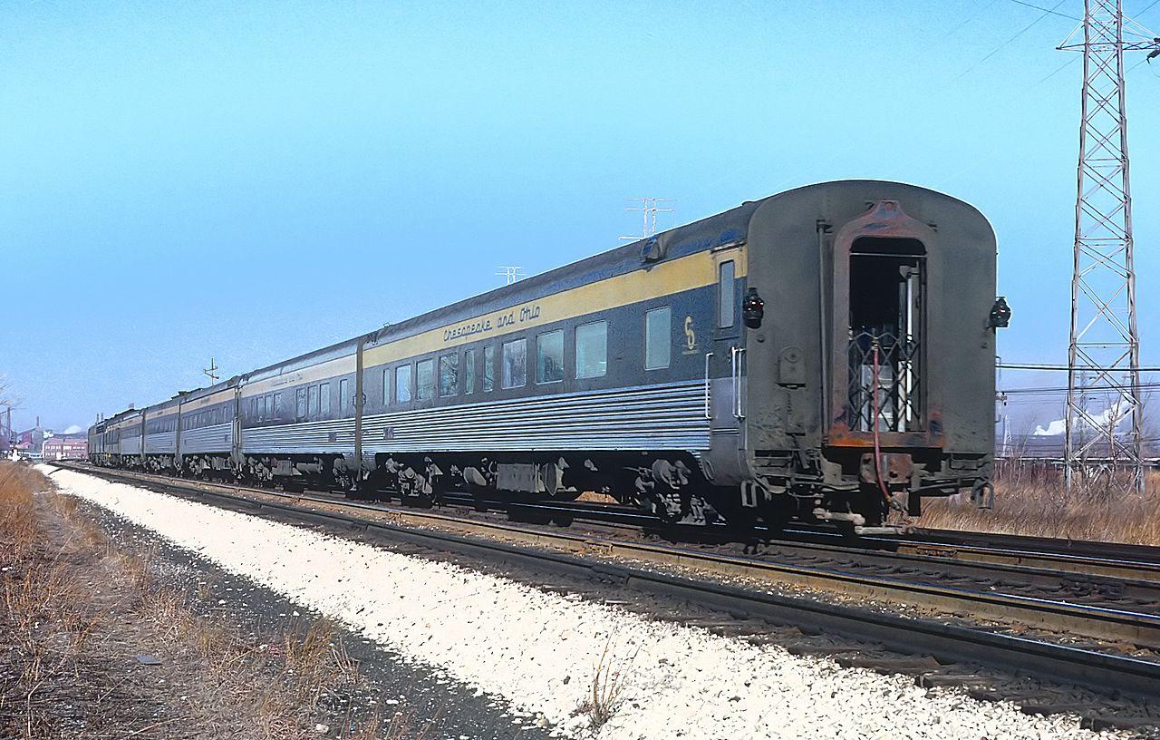 Vehicle - Rail - Passenger Car - Streamlined/Lightweight - Pullman Semi-Corrugated