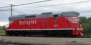 Vehicle - Rail - Locomotive - Diesel - EMD SD24