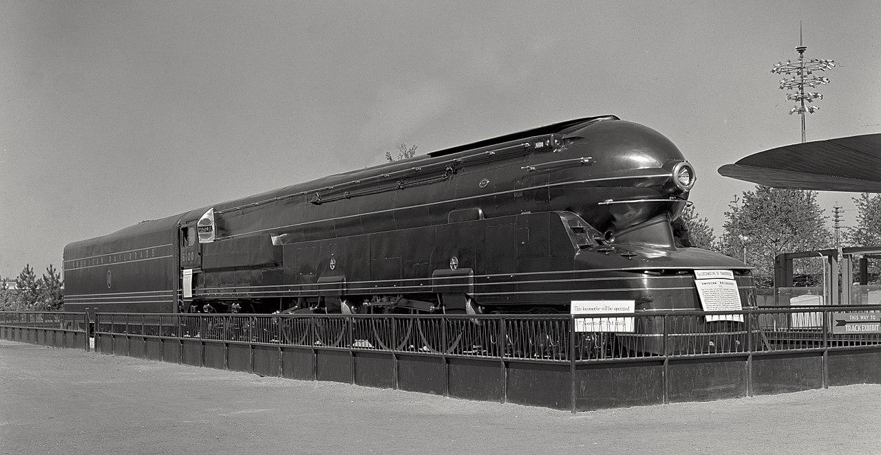 Vehicle - Rail - Locomotive - Steam - 6-4-4-6 S1