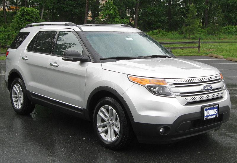 Vehicle - Vehicle - Automobile - Ford - Explorer