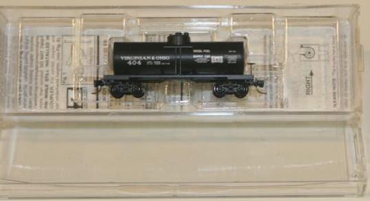 Z Scale - Micro-Trains - NSC MTL  Z05-01 - Tank Car, Single Dome, 39 Foot - Virginian & Ohio - 404