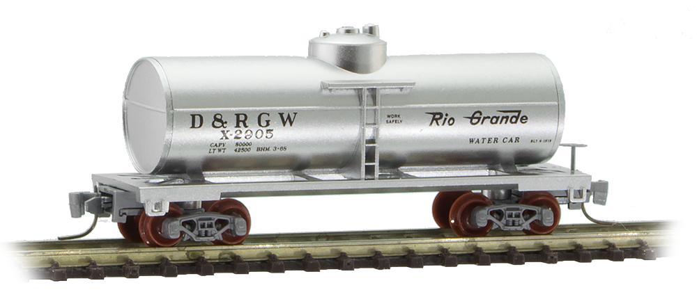 Z Scale - Micro-Trains - 530 00 471 - Tank Car, Single Dome, 39 Foot - Rio Grande - X-2905