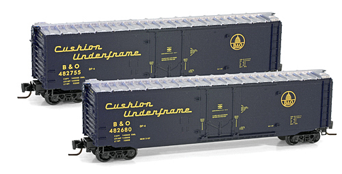 Z Scale - Micro-Trains - 507 00 401 - Boxcar, 50 Foot, Steel - Baltimore & Ohio - 482680
