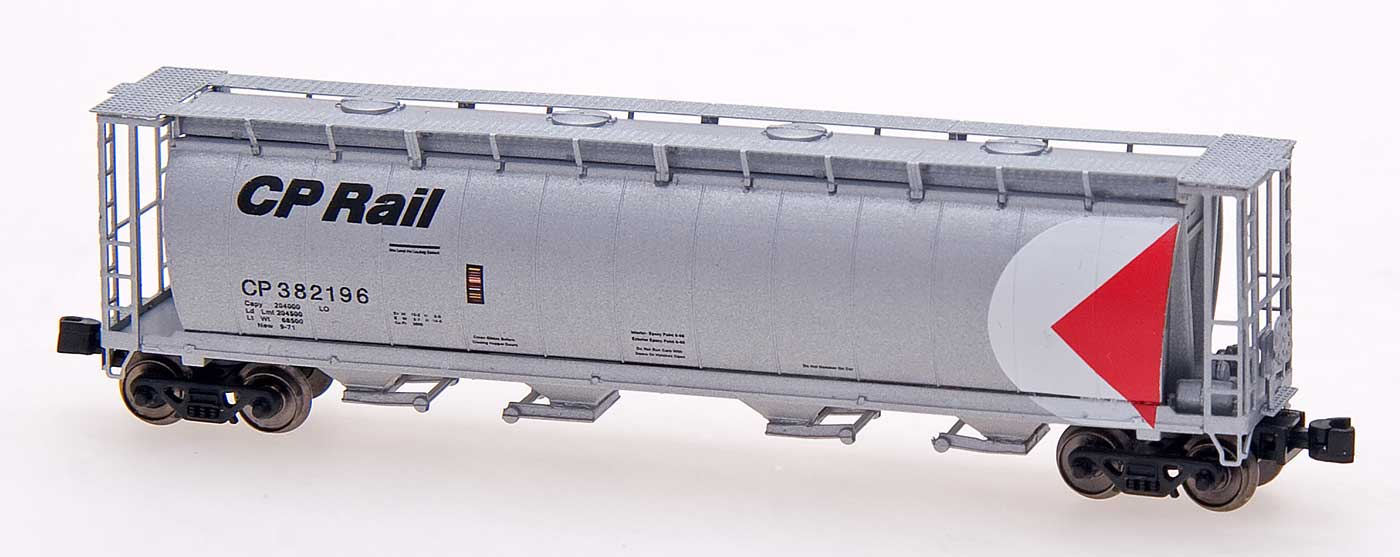 Z Scale - Intermountain - 85221-05 - Covered Hopper, 4-Bay, Cylindrical - Canadian Pacific - 382330