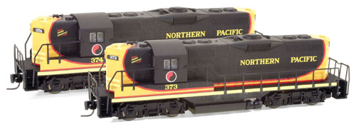 Z Scale - Micro-Trains - 982 01 012 - Locomotive, Diesel, EMD GP9 - Northern Pacific - 374