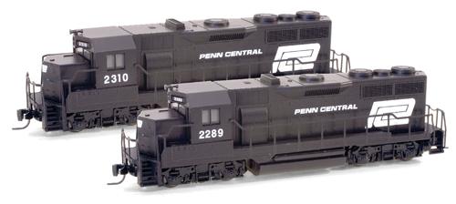 Z Scale - Micro-Trains - 981 01 112 - Locomotive, Diesel, EMD GP35 - Penn Central - 2310