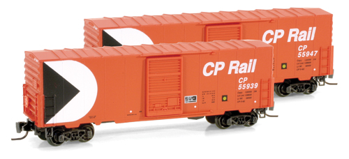 Z Scale - Micro-Trains - 503 00 021 - Boxcar, 40 Foot, PS-1 - Canadian Pacific - 55939