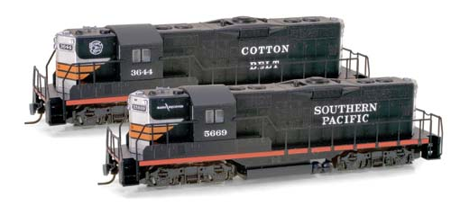 Z Scale - Micro-Trains - 982 01 120 - Locomotive, Diesel, EMD GP9 - Southern Pacific - 5669