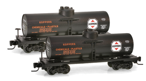 Z Scale - Micro-Trains - 530 00 272 - Tank Car, Single Dome, 39 Foot - Koppers - 2129