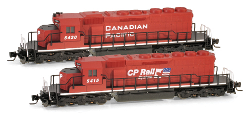 Z Scale - Micro-Trains - 970 01 040 - Locomotive, Diesel, EMD SD40-2 - Canadian Pacific - 5415