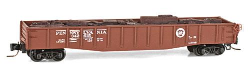 Z Scale - Micro-Trains - 522 00 010 - Gondola, 50 Foot, Steel - Pennsylvania - 342615