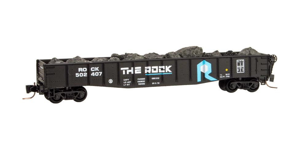 Z Scale - Micro-Trains - 522 00 261 - Gondola, 50 Foot, Steel - Rock Island - 502407