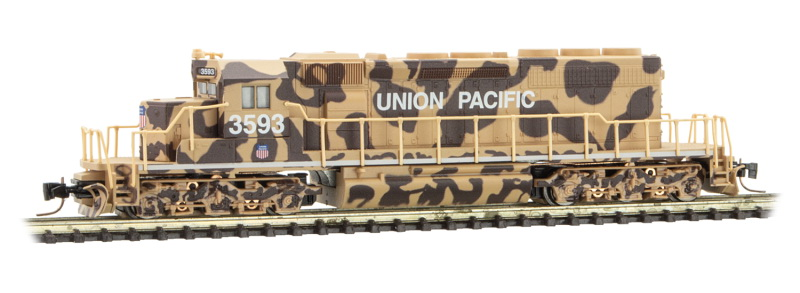 Z Scale - Micro-Trains - 970 01 300 - Locomotive, Diesel, EMD SD40-2 - Union Pacific - 3593