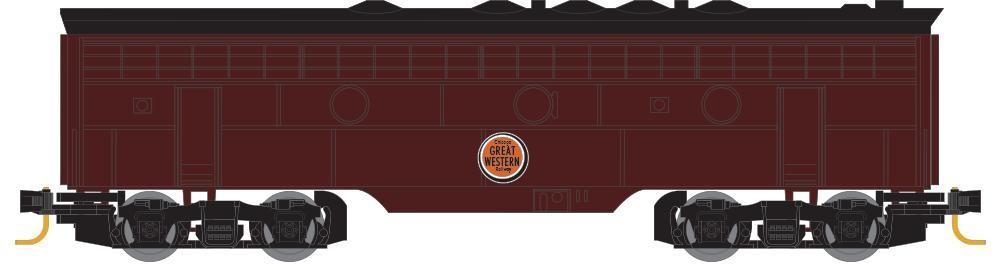 Z Scale - Micro-Trains - 980 02 440 - Locomotive, Diesel, EMD F7 - Great Western