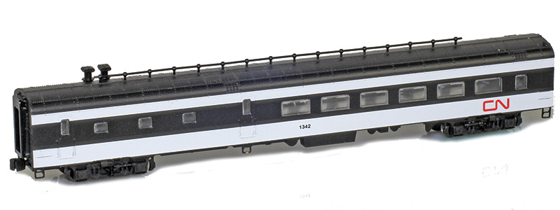 Z Scale - AZL - 73513-2 - Passenger Car, Lightweight, Pullman - Canadian National - 1347