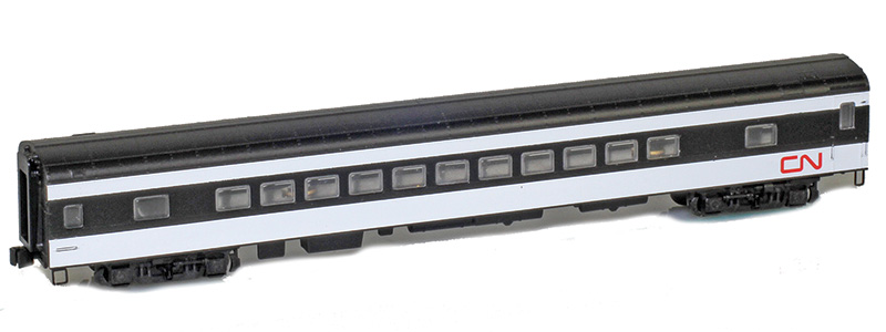 Z Scale - AZL - 73713-0 - Passenger Car, Lightweight, Pullman, Coach, 64-Seat - Canadian National