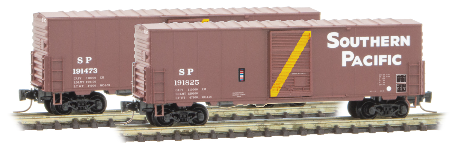 Z Scale - Micro-Trains - 503 00 242 - Boxcar, 40 Foot, PS-1 - Southern Pacific - 191825