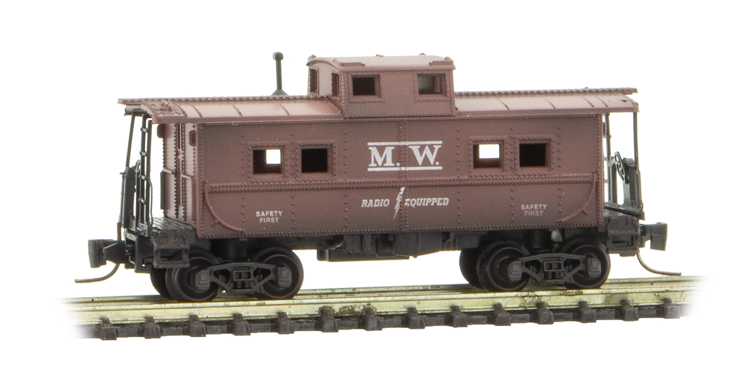Z Scale - Micro-Trains - 2020 CYBER 5 Z SCALE MOW CABOOSE - Caboose, Cupola, Steel - Maintenance of Way