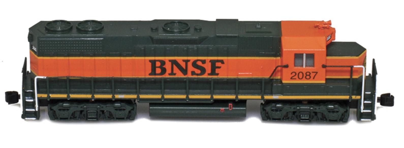 Z Scale - AZL - 62503-6 - Locomotive, Diesel, EMD GP38-2 - Burlington Northern Santa Fe - 2100