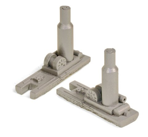 Z Scale - Micro-Trains - 799 91 905 - Structure, Industrial, Steam Donkey - Industrial Structures - 2-Pack