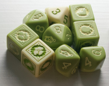 Kingdom Death - Spring Death Dice
