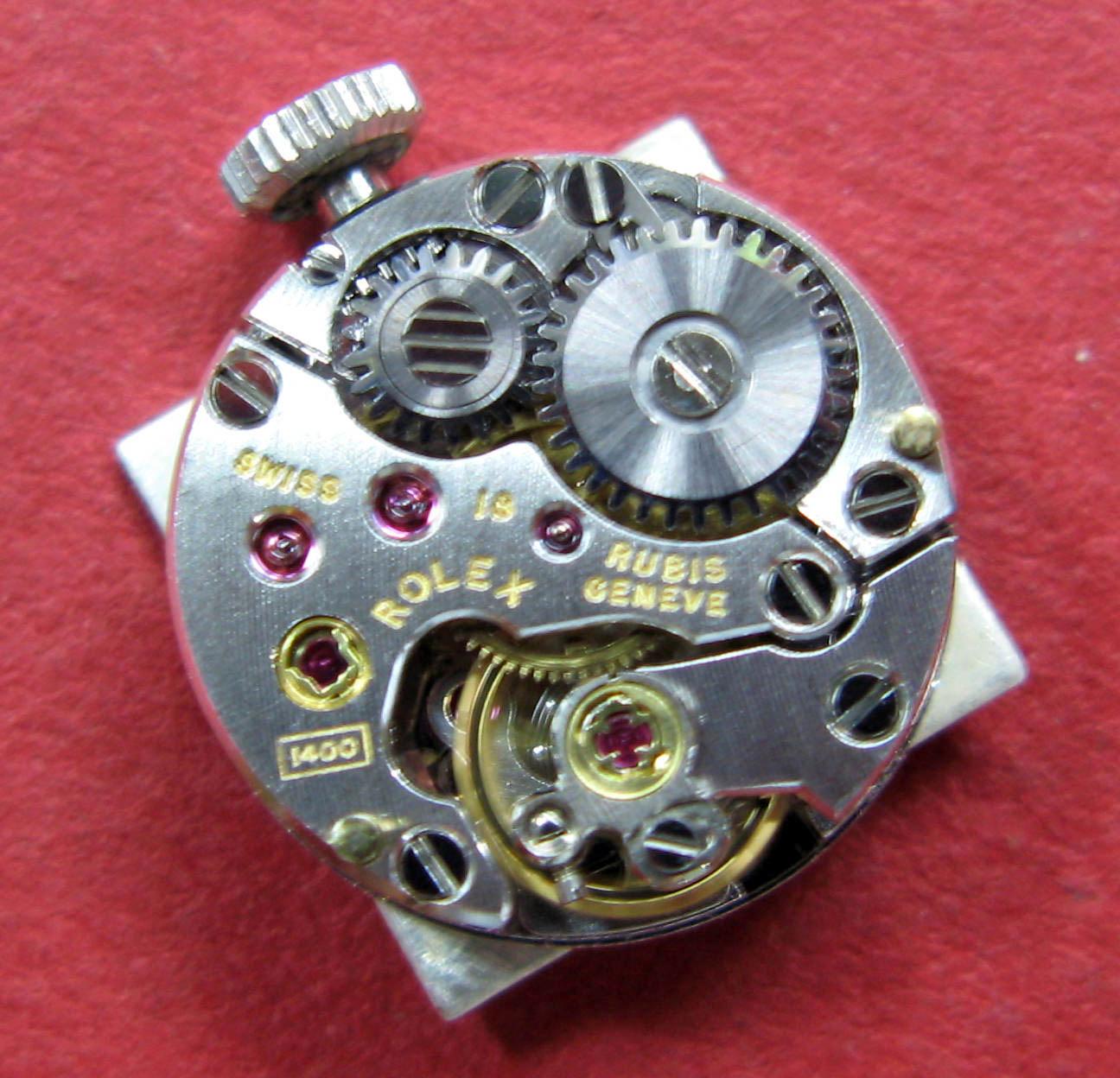 Watch Movement - Manual - Rolex 1400