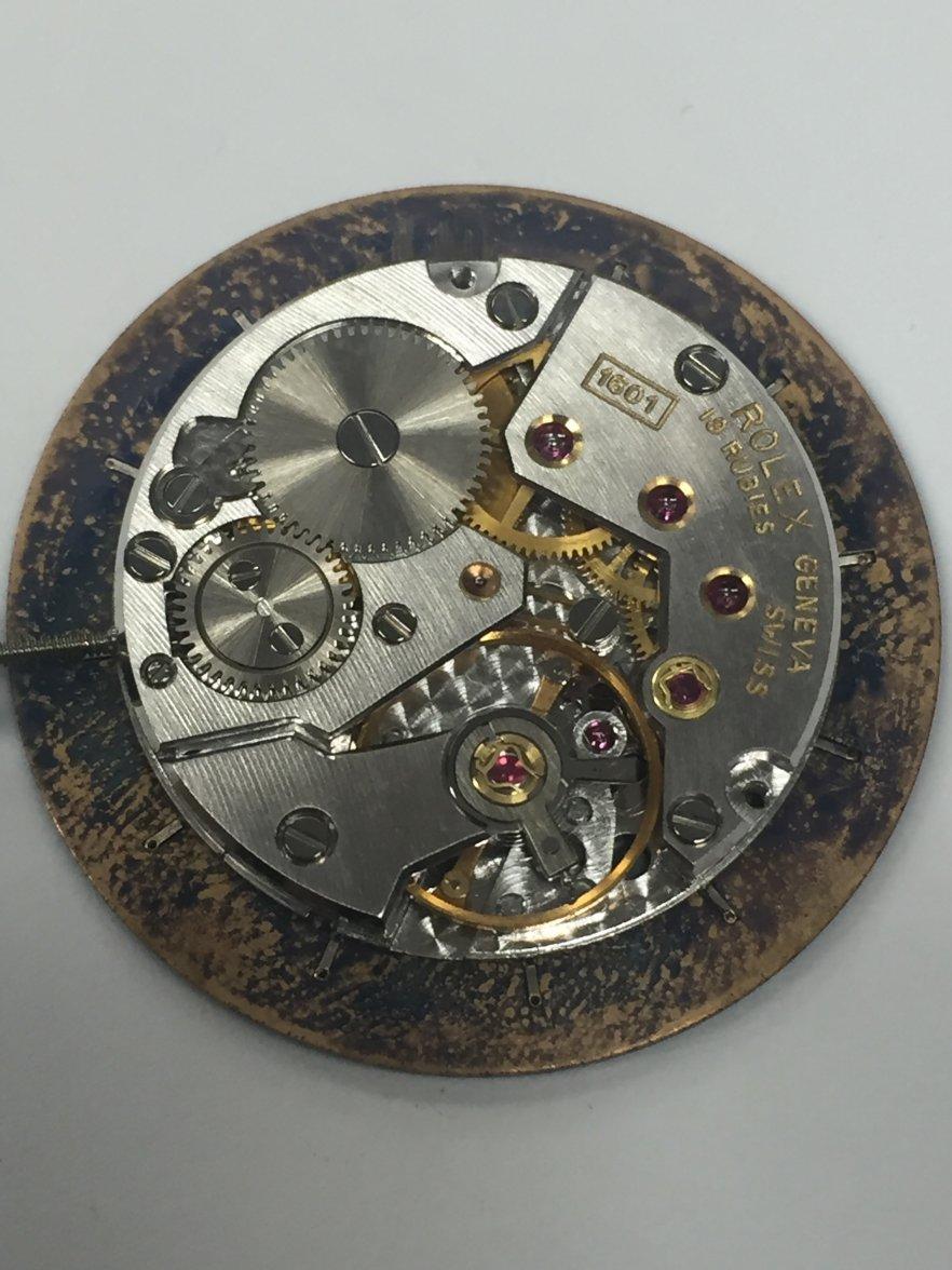 Watch Movement - Manual - Rolex 1601