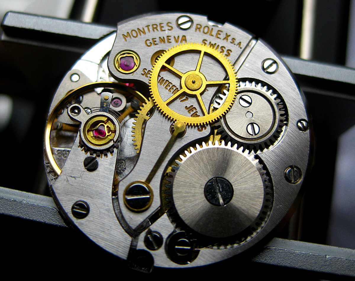 Watch Movement - Automatic - Rolex 1225