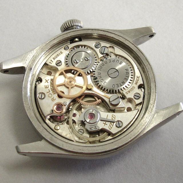 Watch Movement - Manual - Rolex 700 17J (Precision)