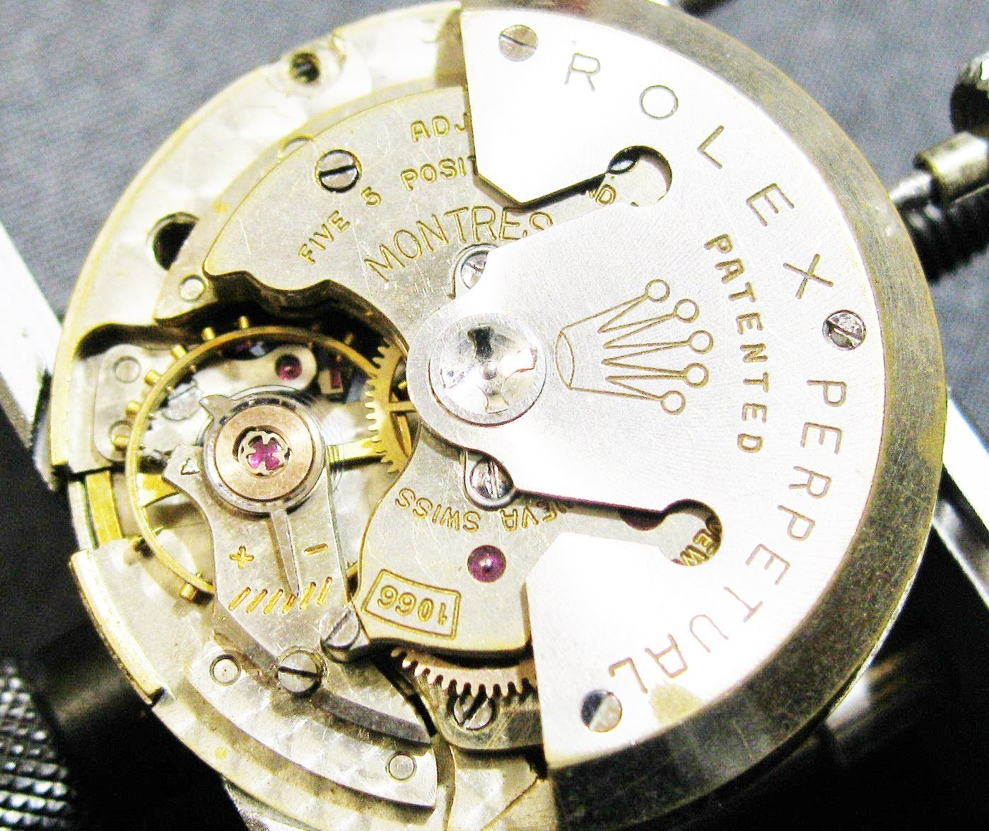 Watch Movement - Automatic - Rolex 1066