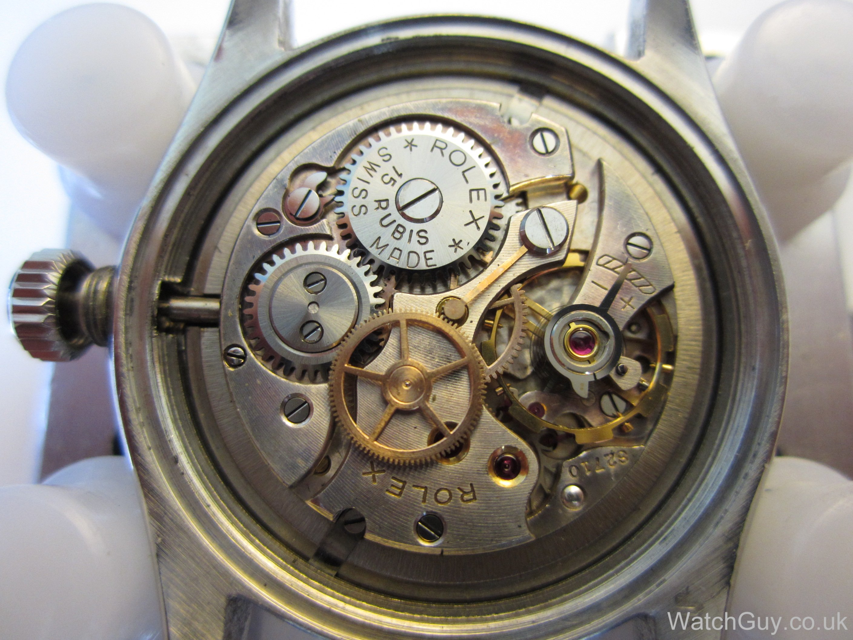 Watch Movement - Manual - Rolex 710