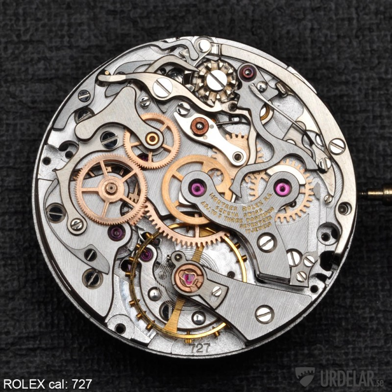 Watch Movement - Manual - Rolex 727