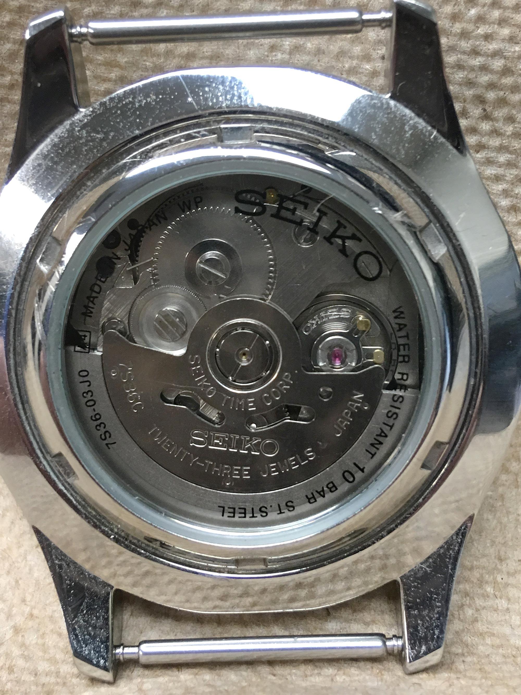 Watch Movement - Automatic - Seiko 7S36