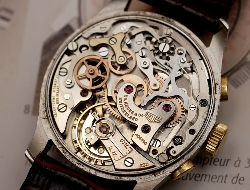 Watch Movement - Manual - Valjoux 72C
