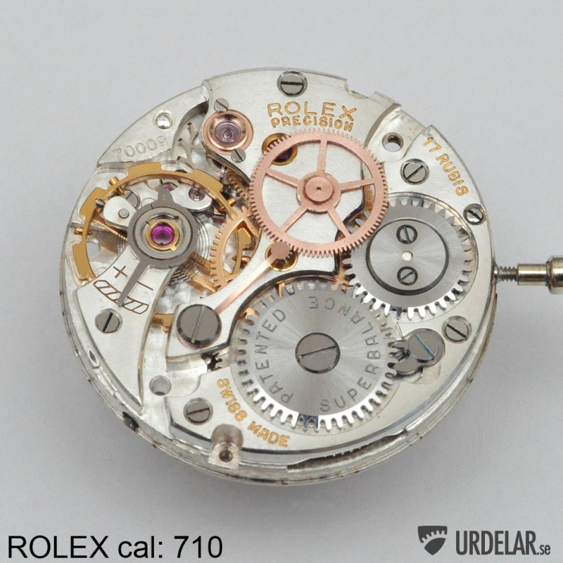 Watch Movement - Manual - Rolex 710 17J (Precision)