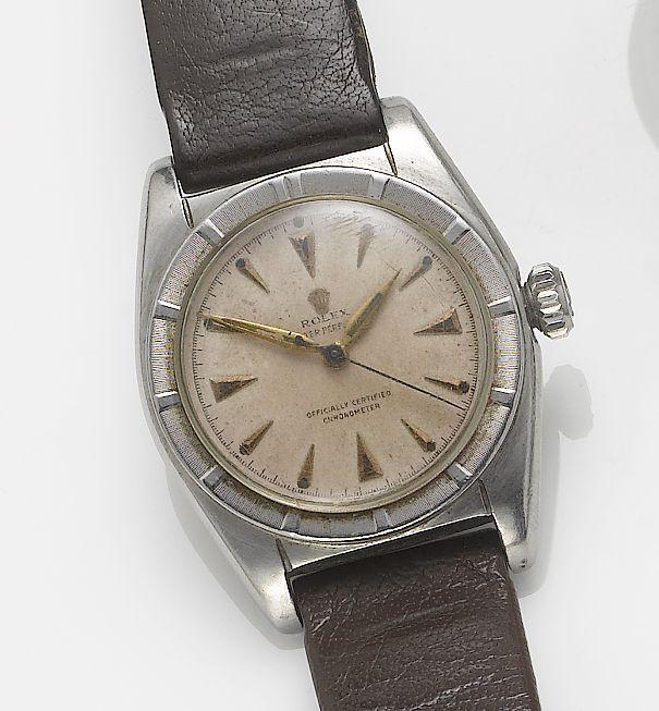 Rolex - 6015 - Oyster Perpetual - Bubbleback - Mens