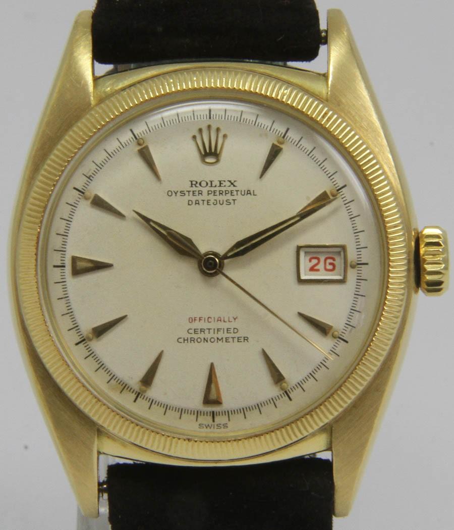 Rolex - 6105 - Datejust - Bubbleback - Chronometer - Mens